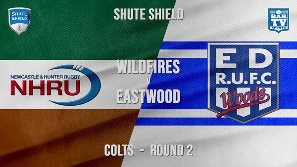 Shute Shield Colts - Round 2 - NHRU Wildfires v Eastwood Slate Image
